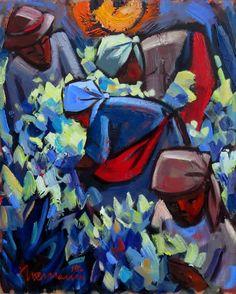 Artwork of Hennie Niemann exhibited at Robertson Art Gallery. Original art of more than 60 top South African Artists - Since South African Artists, Black People, Love Art, Original Art, Art Gallery, Abstract, Artwork, Painting, Expressionism