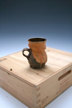 Coffee Mug 24 Ceramic Gold Mug Golden Pottery Mug by WildfireClay