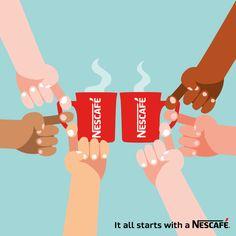 Rien de mieux que de partager un café entre amis