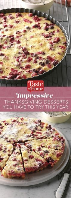Impressive Thanksgiving Desserts You Have to Try This Year