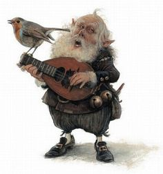 Love the artist's personality in this characterization. Jean-Baptiste Monge - Illustrator, Montreal, QC.