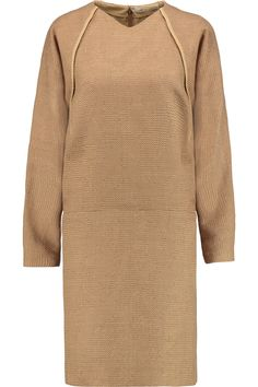 CHLOÉ Woven Wool-Blend Dress. #chloé #cloth #dress