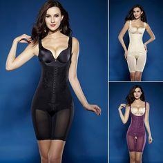 e5d893380e37d Summer Magnetic Corset Shapewear Underwear Waist Corsets Bodysuit Women  Girdles Body Shaper Full Body Shaper