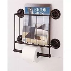 Organize it All 19044W-1 Estate Magazine Rack