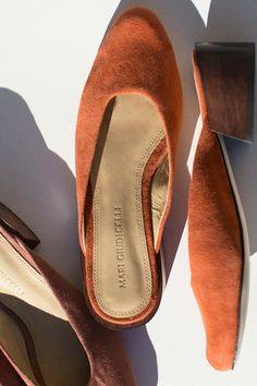 Mari Giudicelli Shoes - Orange Leblon Mule | BONA DRAG
