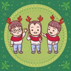 """Happy Holiday""  #DaehanMingukManse #송대한 #송민국 #송만세 #대한민국만세#SongIlKook #송일국 #TeamDaehanMingukManse #TeamSongIlKook"