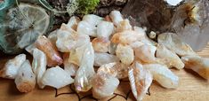 Aura Citrine points - Healing Crystals & Stones by CastleRocksCornwall on Etsy Healing Crystals, Crystals And Gemstones, Stones And Crystals, Citrine Crystal, Crystal Decor, Crystal Meanings, Etsy, Food, Healing Stones