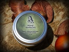 Organic Beddy-bye Body Butter Infused with Lavender. $10.00, via Etsy.