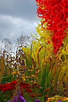 Dale Chihuly Exhibit | Dale Chihuly's 'A New Eden' outdoor exhibit, Michigan | World of Color