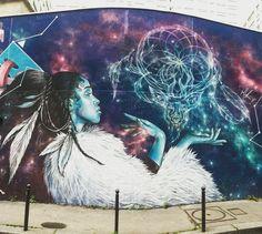 By #alex  #streetart #streetartist #urbanart #urbanartist #graffiti #graff #streetartparis #parisgraffiti #graffitiwall #wall #wallporn #wallpornart #streetarteverywhere #streetphoto #streetartandgraffiti #urbanwalls #graffart #spray #bombing #instagraff  Rue des Couronnes #paris