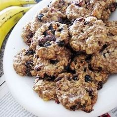"""Healthy Banana Cookies 
