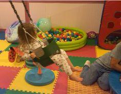 Thinking Moms create a low budget sensory room