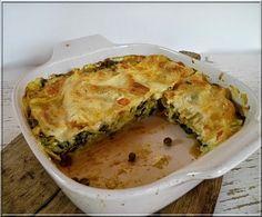 Limara péksége: Zöldséges lasagne
