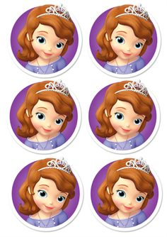 Prinsesse Sofia bursdag dørkrans DIY