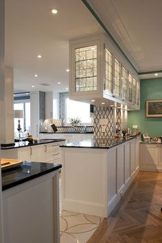 Upper east side #kitchen - Anjie Cho - Feng Shui Architect + Holistic Interior Designer