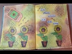 """Seeds"" An Art Journal Page"