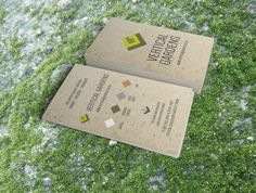 We love our new Growing Paper tags printed with seed infused paper to use straight away in your new Vertical Garden.