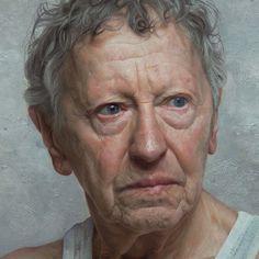 Sam Goldofski, an Auschwitz survivor (detail) by David Kassan (American, 1977)