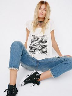 Free People lets you get in touch with your inner rocker chick with an ultra cool selection of Vintage-Style Rock Band Tees. Check out my top picks on the blog, chicfablove.com