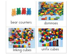 Math Manipulative Labels -- I <3 the internet! I don't have to make my own!! :)
