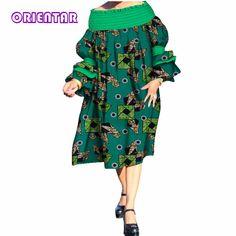 autumn 2018 dress women elegant Bazin african dresses for women Dashiki African Print Splice Dresses Traditional Clothes WY408| | - AliExpress African Print Clothing, African Print Dresses, African Print Fashion, African Clothes, Latest African Fashion Dresses, African Dresses For Women, Traditional African Clothing, Traditional Outfits, African Tops For Women