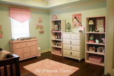 ~ Ms Smartie Pants ~: Transforming cheap bookshelves in the babies nursery