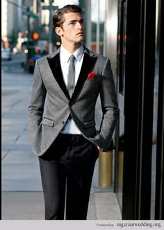 Nigerian Grooms: Swag In This Very Stylish Suit Ideas On Your Wedding Day |