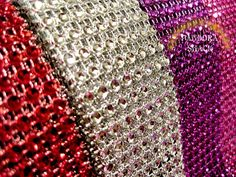 8 yard variety pack diamond Mesh wide by CelebrationMarket Diy Party Supplies, Arts And Crafts Supplies, Holiday Crafts, Fun Crafts, Floral Supplies, Diy Party Decorations, Fun Projects, Small Businesses, Ribbons