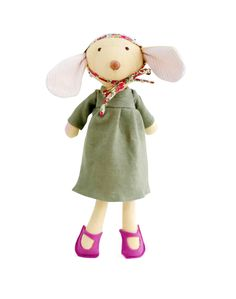 Annicke the Mouse - Organic Doll by Hazel Village I Noble Carriage