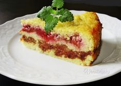 Staročeský jáhelník • recept • bonvivani.sk Kids Meals, Sweet Tooth, French Toast, Cheesecake, Food And Drink, Yummy Food, Sweets, Baking, Breakfast