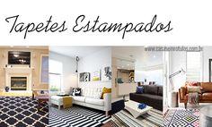 Casa Sem Rótulos, como usar estampas na decoração, estampas, combinar estampas, tapetes estampados