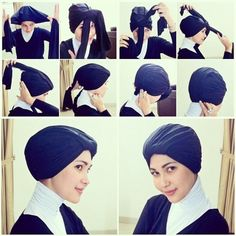 Turban Style without pin