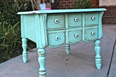 would love this for a dining room buffet in my coastal beach home