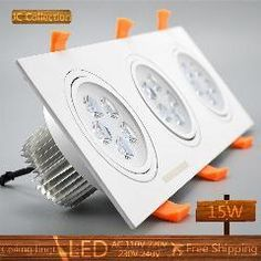Lights & Lighting Latest Collection Of Saving Energy And High Power 21w 24w Led Ceiling Lamp Recessed Downlight Roof Down Bulb Spot Light Lamp Ac100-240v Home Lighting