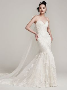 d6bd720677d Fit And Flare Wedding Dress by Sottero and Midgley - Image 1 Sottero  Midgley