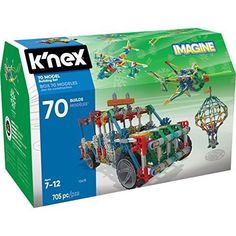 Model Building Set Engineering Education Toy For Kids Adults Christmas Gift NEW #KNEX