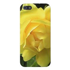 Yellow Rose Glow Phone Case iPhone 5 Cover $35.95