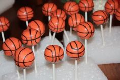 Cake Pops by Randi: Basketball Cake Pops