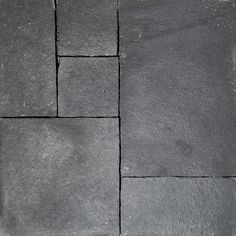 Black Sand Stone Pavers | Kaplan Flooring Jennifer Williams, Black Sand, Sidewalk, Flooring, Stone, Rock, Sidewalks, Wood Flooring, Rocks
