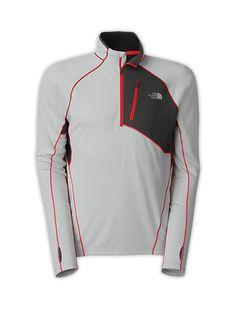 The North Face Men's Shirts & Tops MEN'S IMPULSE ACTIVE 1/4 ZIP