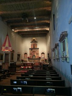 Mission San Diego ... oldest mission in California.   BEAUTIFUL!