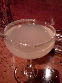 """I have the perfect appertif – a spin on a cocktailI I recently had at a party. I'll call it """"The Giggler""""."""
