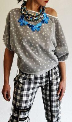 """""""ФАНКАХОЛИК"""" - прва модна колекција на дизајнерката на накит Еми Норис Rebel Fashion, Polka Dot Top, Tops, Women, Woman"""