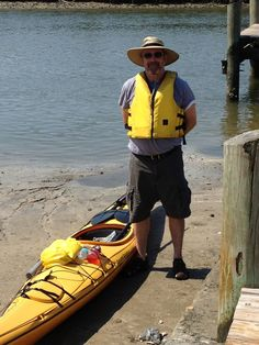 Me getting ready to embark on a paddle from Ponce Inlet Lighthouse to the Port Orange Causeway.