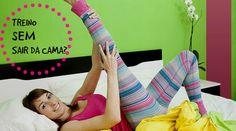 Treino na cama: 5 exercícios abdominais para queimar calorias sem se levantar - Bolsa de Mulher