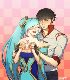 Sona and Lee Sin - League of Legends