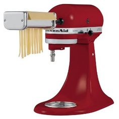 KitchenAid pasta roller attachments -- they really are THAT good. (I have the KPRA set) Try the spinach fettuccine! #Fresh #Amazing