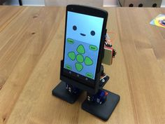 MobBob es un robot Arduino controlado mediante Android 3d Printed Robot, 3d Printed Objects, Android Codes, Android Apps, Types Of Robots, Sistema Android, 3d Filament, Smartphone, Arduino Projects