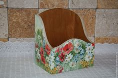 Cutlery Holder, Decoupage Furniture, Folk Art, Jewelry Box, Accent Chairs, Boxes, Home Decor, Crates, Antiquities