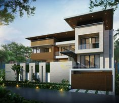 Home Exterior Design . Home Exterior Design . Home Exterior Color Jakarta In 2020 with Images House Front Wall Design, Gate Wall Design, Exterior Wall Design, House Outside Design, House Gate Design, Bungalow House Design, Exterior House Colors, Modern Bungalow Exterior, Modern Farmhouse Exterior